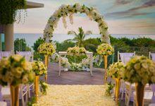 Intimated Sunset Wedding Sheraton Kuta by Sheraton Bali Kuta Resort