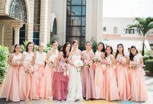 wedding of  Christine by Albert Kurniawan