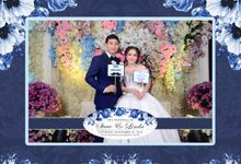 The Wedding of Linda & Steve by Red Carpet Photobooth