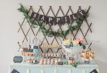 Premium Candy Bar by The Lair Weddings Candy Bar