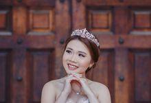 Prewedding makeup by Lydia Merry Makeup Artist