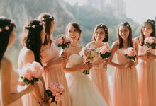 Olivia and Vincent Wedding by Charlane Yu Makeup and Hair