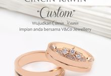 Custom Wedding Ring V&Co Jewellery by V&Co Jewellery