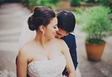 Navy Blue and White Themed Wedding - Ian and Ali by David Garmsen Photo and Video