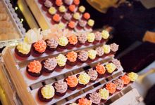 Wedding Paradiso Dessert Table by Manna Pot Catering