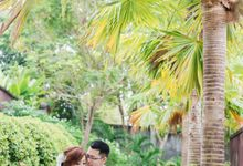 Tropical Pineapple Wedding by EverGown