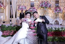 Adrian & Astrid Reception by Impressions Wedding Organizer