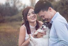 Pre-wedding Shoot - Jonathan  & Tiffany by Charlane Yu Makeup and Hair