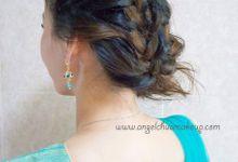 Church Wedding + DnD by Angel Chua Lay Keng Makeup and Hair