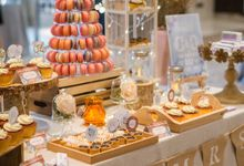 Whimsical Sweet Dessert Table by aBite