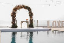 Bali Clifftop Wedding Photography - Sean & Monique at anugerah villa uluwatu by The Deluzion Visual Works