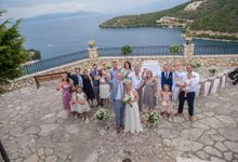 A&T Meganisi wedding by Lefkas Weddings