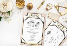 A GLITZY WEDDING AFFAIR by Pearlyn and Paper