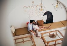 Passionate & Intimate Villa Couple Session in Bali by fire, wood & earth
