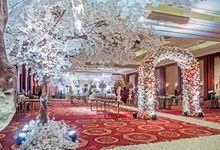 The Wedding of Rossy & Stevan by Arlia Design