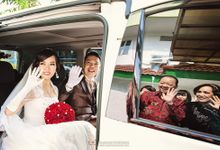 The Wedding of Nini & Junaidy by TEMPHOTOWORKS