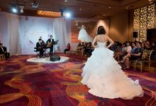 Bridal Gown Fashion Show At Mandarin Orchard Singapore by La Belle Couture Weddings Pte Ltd