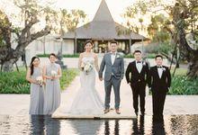 Bali Wedding Destination at The Royal Santrian by Gusmank Wedding Photography