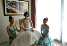 The Wedding Of Teguh & Dina - 11 May 2017 by David Entertainment