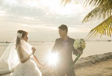 Seaside Pre-Wedding Theme by Memoire & Co
