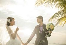 Seaside Pre-Wedding Theme by Memoire & Co
