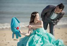 Beach Theme Pre-Wedding Shoot by Memoire & Co