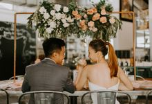 A Romantic Industrial Wedding by The Cat Carousel
