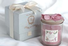 Flower Candle Aromatherapy - Kenny & Shierly by Red Ribbon Gift