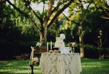 Beauty and the Beast Garden Wedding by Blossoms Bridal & Occasions