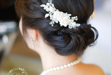 Elsa Wedding day by Cocoon makeup and hair