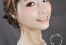 Xiaoxi four different makeup & hair style shoot  by Cocoon makeup and hair