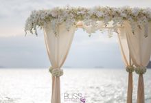 Destination weddings at Conrad Koh Samui by BLISS Events & Weddings Thailand