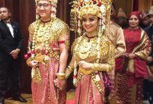 Putri & Reno by Bunga Wedding Planner and Organizer