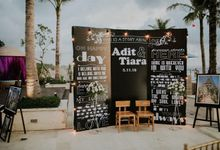 ADIT & TIARA by Nagisa Bali