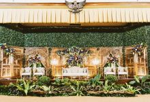 Garden Inspired Javanese Wedding by Sentra Bunga