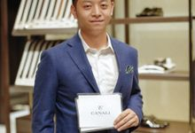 MC for Canali Store Launching at Plaza Indonesia by Demas Ryan