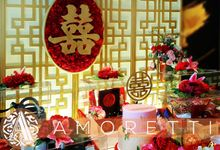 Vania & Rusdy Engagement SANGJIT Day by Amoretti Wedding Planner