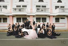 Blushing Burne And Her Metal Gray Entourage by Regine Dulay Atelier