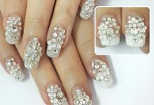 Wedding nails 2015 by felizenailart