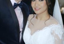 Wedding of ayu nirmala n cameron by deZee Makeup and Wedding service