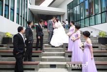 Wedding Ricky & Maria @ Sense by STILETTO PAGAR AYU