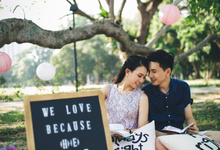 Pre wedding shoot - Sebastian & Kankan by The Style Atelier Singapore