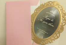 Magic Mirror Birthday Invitation by La Grazia Wedding & Party Supplies