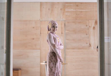 happy engaged  by Manara Couture