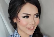 Makeup for celine by fleur