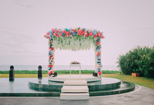 Wedding decoration by Bali Eve Wedding & Event Planner