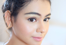 Make-up for Sahilahisyam by Tiffany Roselin Makeup Artist