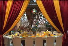 Arabian Night Birthday Dinner by Richeri Decor
