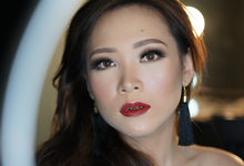 Prewedding photoshoot for Ms Livia by Switha Plays Makeup