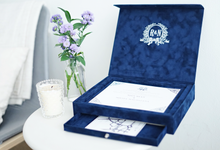 The Luxuries Velvet Box by Memoir Card
